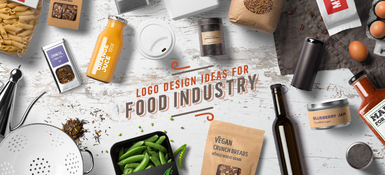 Logo Design Ideas For Food Industry Food Product Company Logos
