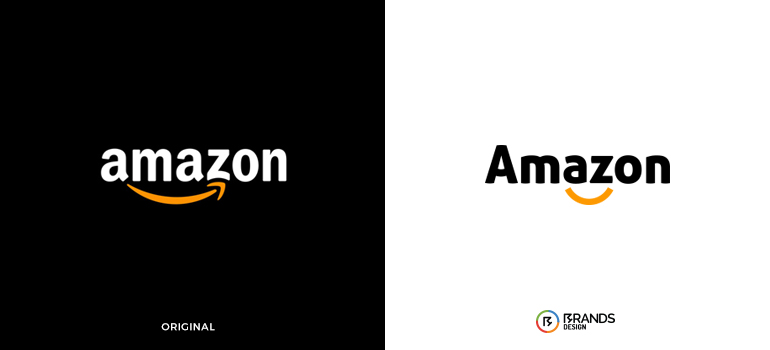 Redesigned Amazon logo