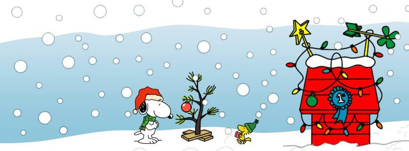 Snoopy And Woodstock Christmas.50 Facebook Timeline Covers For Christmas Brands Design