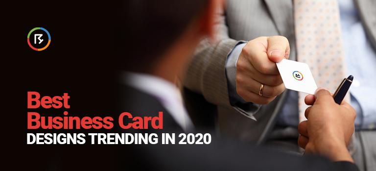 Best Business Card Designs trending in 2020