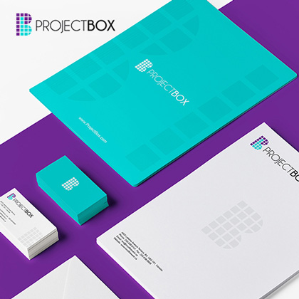 Project Box - Letterhead Design